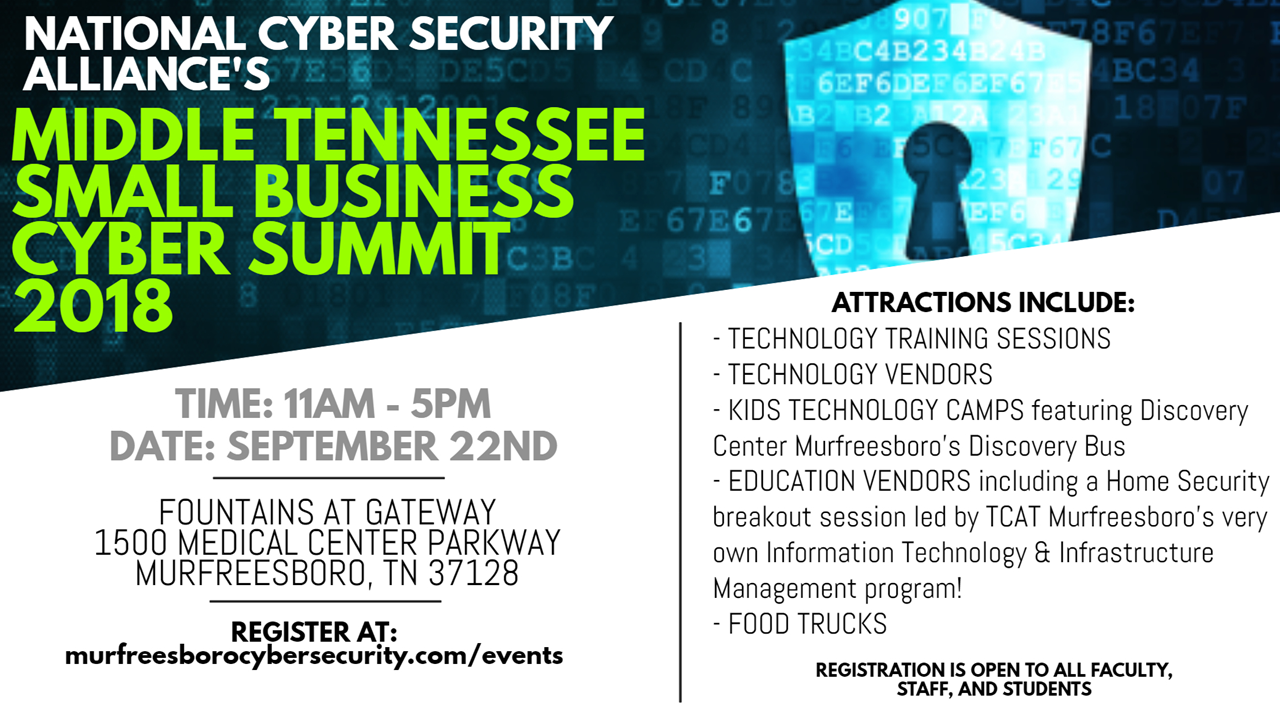 Middle Tennessee Small Business Cyber Summit